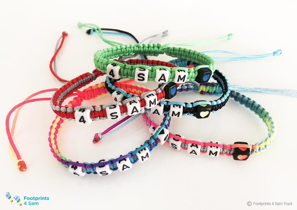 4 Sam Beaded Bracelets