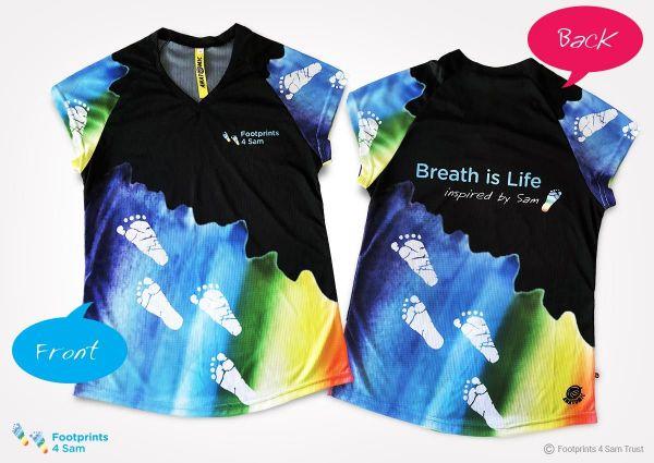 F4S Ladies V-Neck Running Shirt